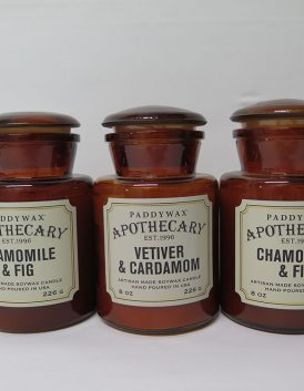 Apothecary soy candles