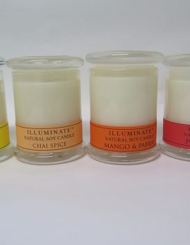 Illuminate soy candle