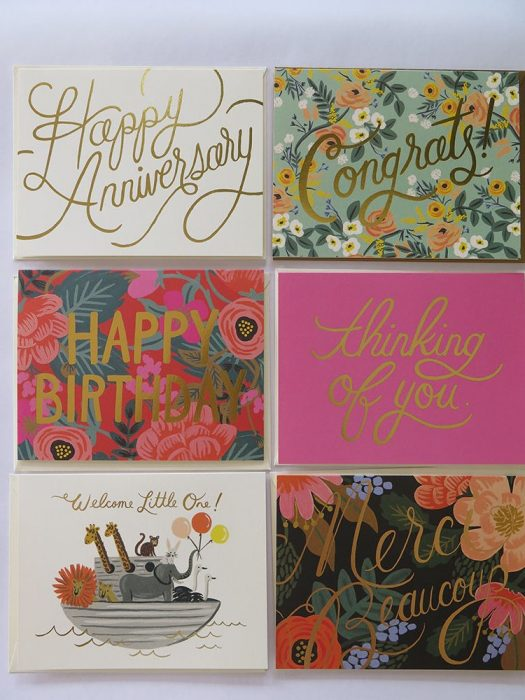 Rifle paper co, greeting card