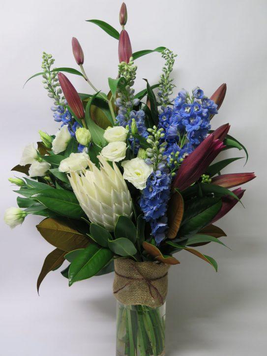 Soft Pastel Vase flower bouquet